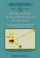 Bulgarian Astrophysical Journal